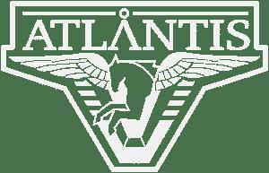 Atlantis Logo White