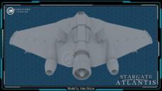 DarkStorm Studios F302 Top Down Rear